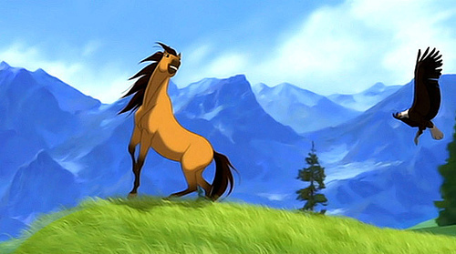 spirit stallion of the cimarron wallpaper titled Spirit