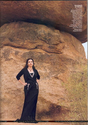Stephenie Meyer in Vogue