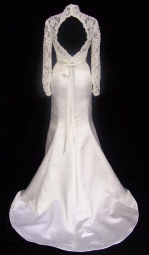 Wedding گاؤن, gown with جیکٹ