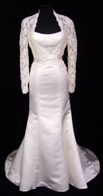 Wedding Gowns images Wedding Gown with jacket wallpaper and ...