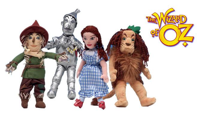 Wizard of Oz Soft toy Set