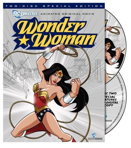 Wonder Woman wallpaper containing anime titled Wonder Woman DVD