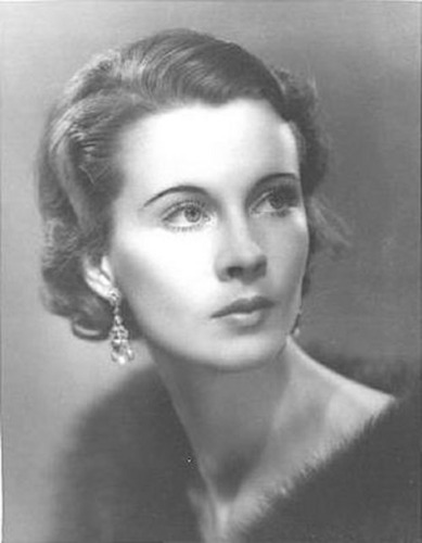Young Portrait of Vivien Leigh
