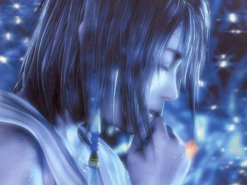 Final Fantasy X wallpaper possibly containing a portrait entitled Yuna