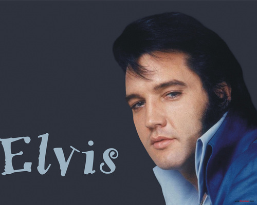 Elvis Presley Hintergrund with a portrait titled elvis
