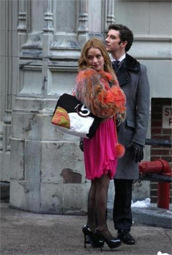 on set of ugly betty