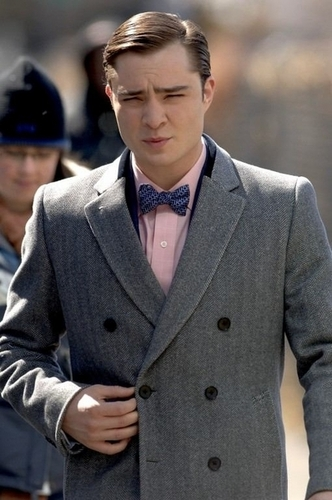 03.12.09 - On The Set of Gossip Girl