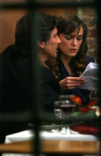 'Last Night' On Set