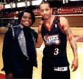 A.I. & The Late Great James Brown - allen-iverson photo