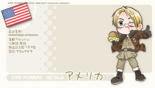 Hetalia wallpaper possibly with anime called America