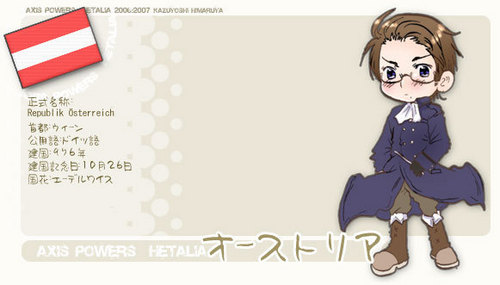 Hetalia wallpaper possibly with anime titled Austria
