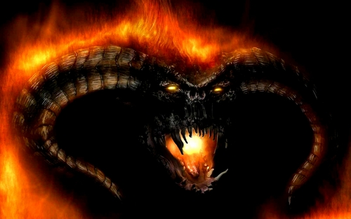 Balrog - lord-of-the-rings Wallpaper