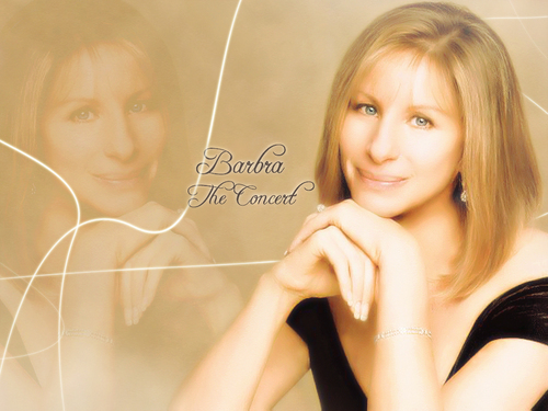 Barbra Streisand দেওয়ালপত্র probably containing a portrait called Barbra