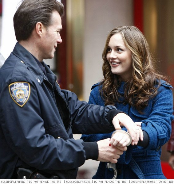 Blair getting arrested ""