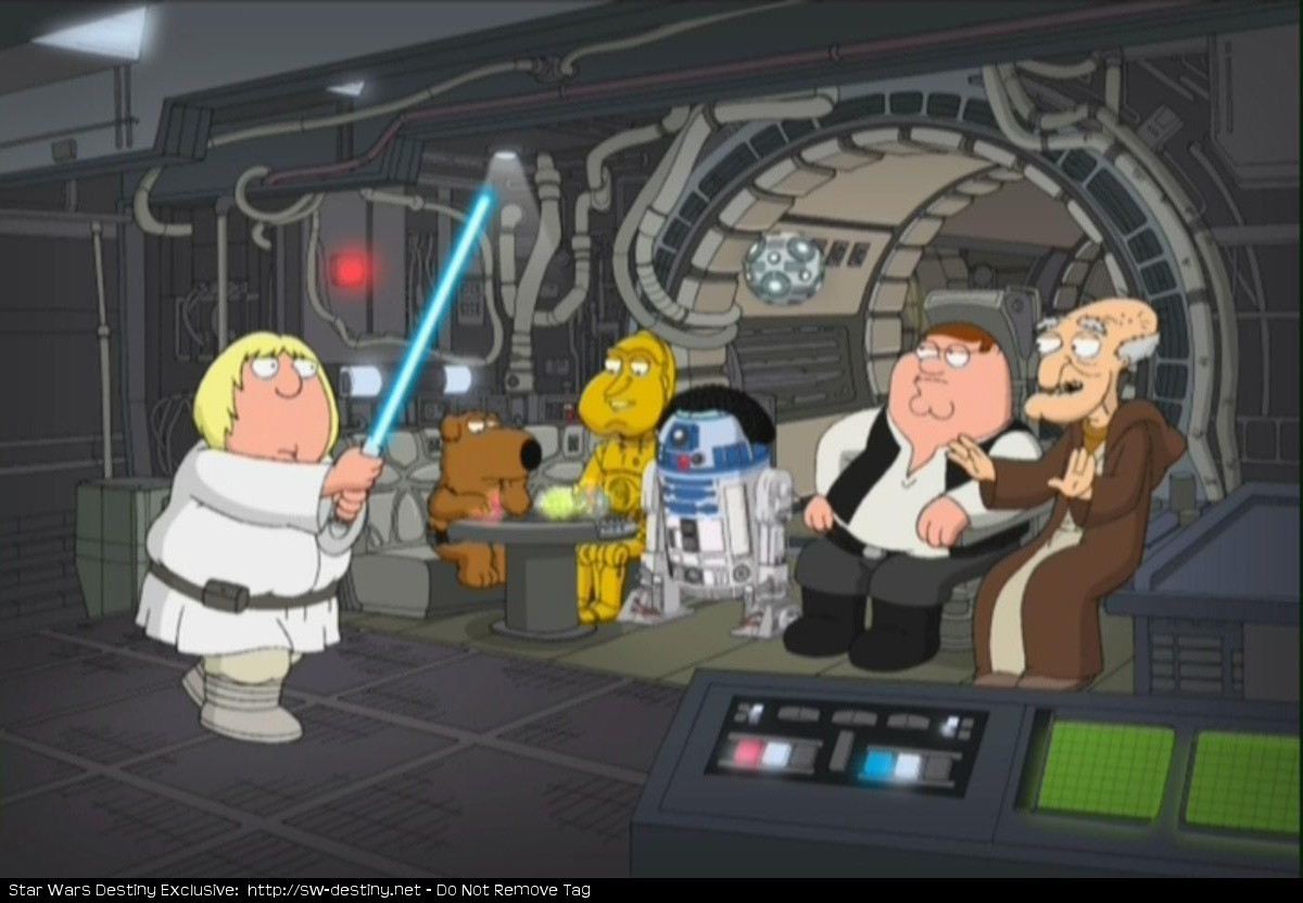 Family Guy Family Guy Blue Harvest Couch