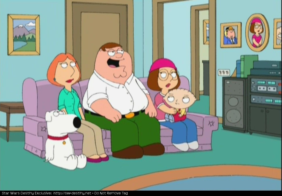 Family Guy screenshots Family Guy Blue Harvest Couch