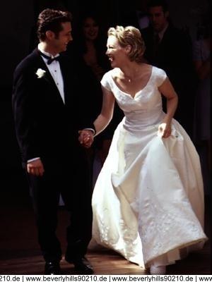 Brandon walsh kelly taylor wedding