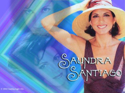 saundra santiago hot