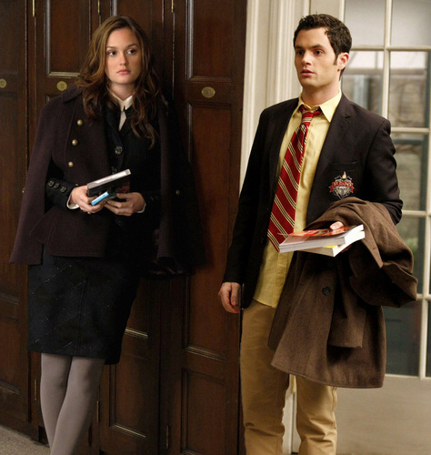 Dan and Blair wallpaper possibly with a business suit and a well dressed person entitled Dair