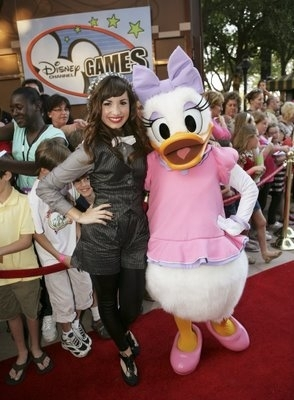 Demi and Daisy Duck