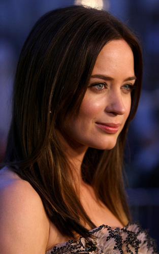Emily Blunt at 'Sunshine Cleaning' screening