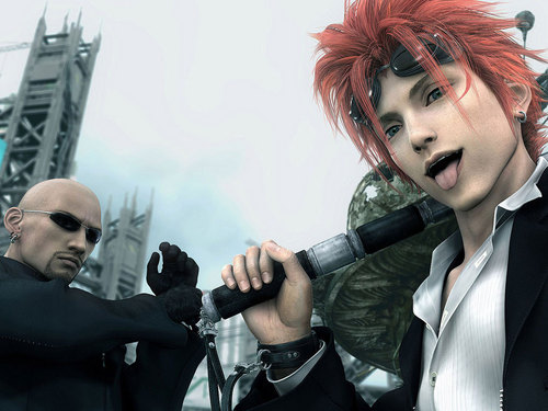 FFVII Advent Children fondo de pantalla