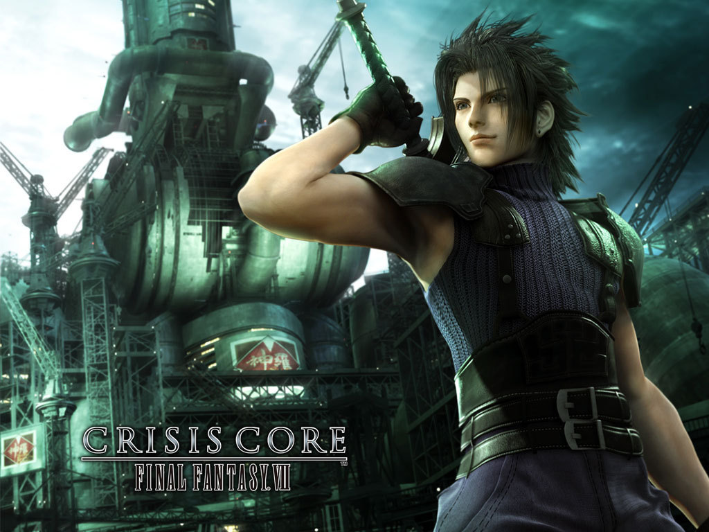 FFVII Crisis Core Wallpaper - Final Fantasy 1024x768 800x600