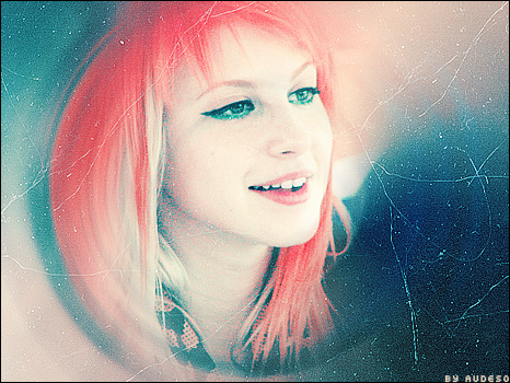 Cherry Red Hair Hayley Williams. house hayley williams paramore