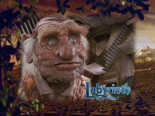 Hoggle - labyrinth Wallpaper