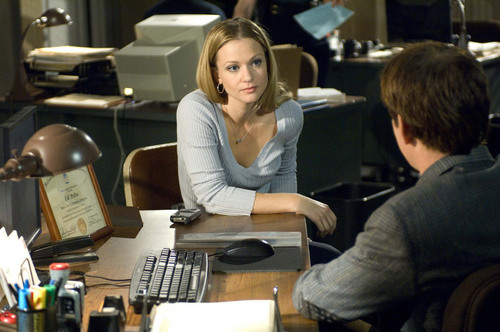 "Jennifer ""JJ"" Jareau wallpaper probably with a desk, a sign, and a drafting table entitled JJ"