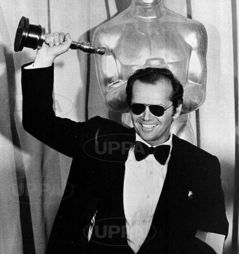 Jack with an Oscar