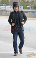 Jackson Rathbone leaving Vancouver - twilight-series photo