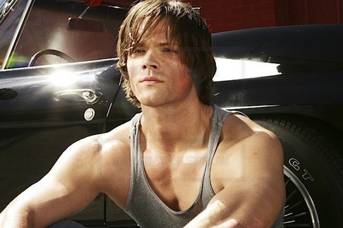 가장 핫한 남자배우 바탕화면 entitled Jared Padalecki Outtakes from TV Guide