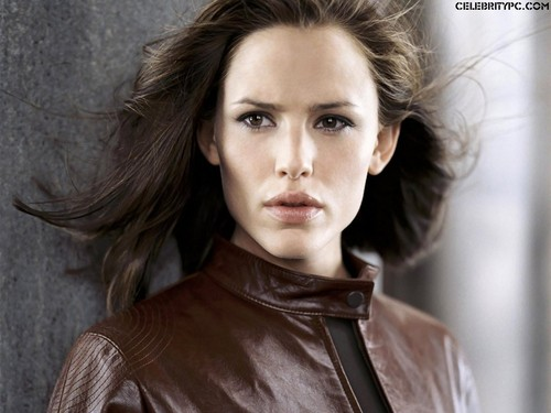 Jennifer Garner wallpaper with a camicetta and a portrait titled Jennifer Garner