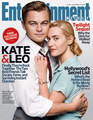 Kate & Leo on the cover of Entertainment Weekly