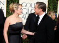 Kate Winslet & Leonardo DiCaprio at  the Golden Globes  - kate-winslet-and-leonardo-dicaprio photo