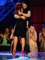 Kris Allen gets a hug :P
