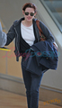 Kristen Stewart leaving Vancouver - twilight-series photo