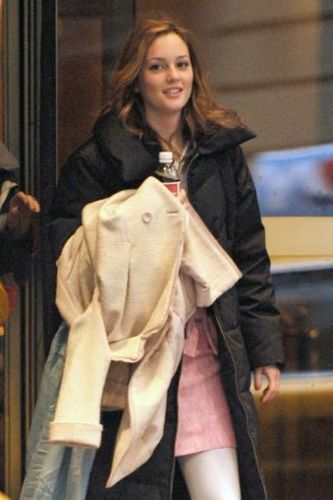 Leighton walking to set 3.11.09