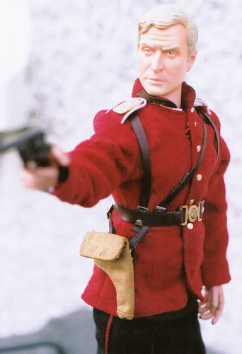 Michael Caine Action Figure in Action!
