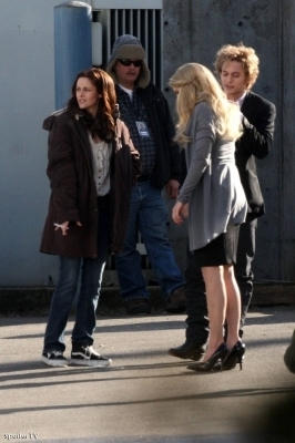 più New Moon On Set foto
