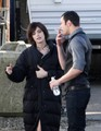 More New Moon On Set Photos - twilight-series photo