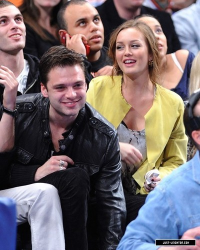 More photos of Seb and Leight <3