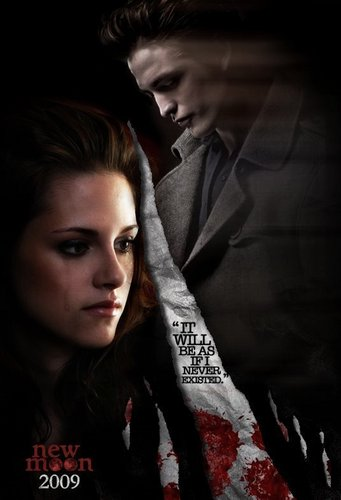 New Moon Movie wallpaper probably containing a portrait titled New Moon