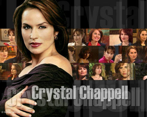 Olivia Spencer-Crystal Chappell