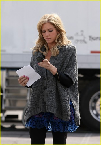 "On the set of ""Lily"" (the spinoff)"