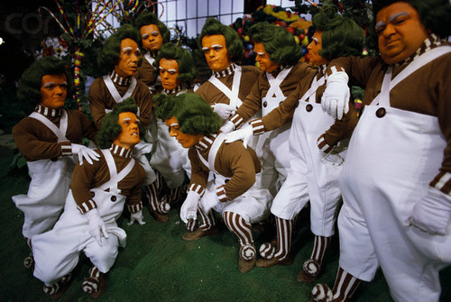 Oompa Loompas - willy-wonka-and-the-chocolate-factory Photo