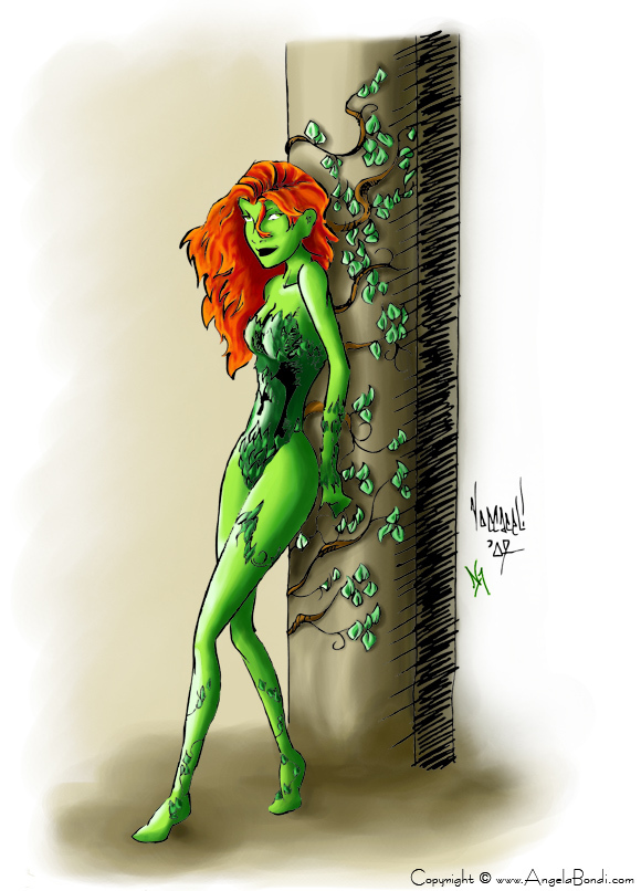 poison ivy comic pictures. girlfriend Comic Book Artist and poison ivy comic art. Poison Ivy