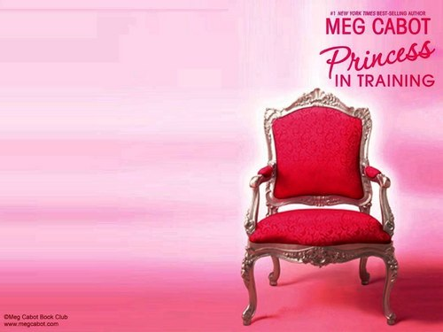 Meg Cabot achtergrond containing a troon entitled Princess Diaries