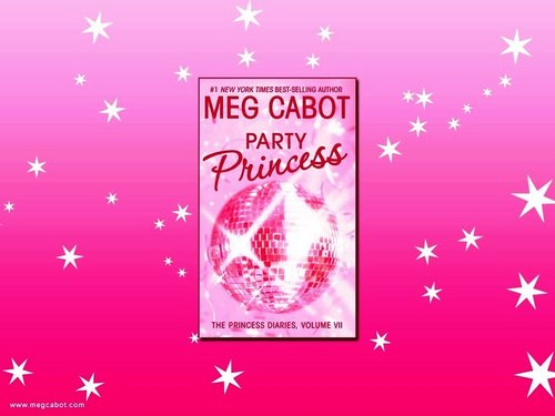Meg Cabot achtergrond probably with a sign titled Princess Diaries